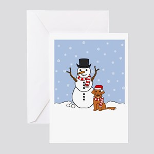 Toller Happy Holidays Greeting Cards (Pk of 10)